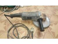 "black and decker 9"" angle grinder"