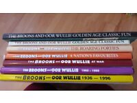 The Broons and Oor Wullie annuals and celebration issues