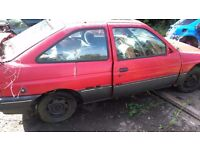 Ford escort 1.8 diesel breaking