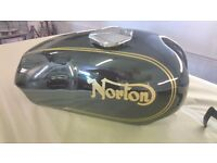Norton Commando Tank and Side Panels