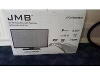 32in HD Freeview LED TV with DVD built-in