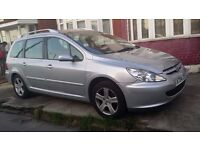Peugeot 307 sw 1.6 automatic 7 seater excellent condition full service history (Toyota Honda Touran