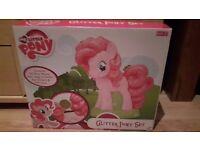 My Little Pony Glitter Pony Set (brand new)