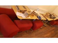 Café or Restaurant chairs and Table