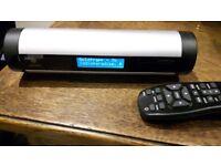 ROKU WI-FI Audio streamer M400PX Soundbridge Homemusic v good condition with IR remote control