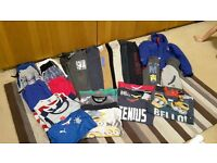 Bundle of 33 boys clothes, mixed range of 6-7 and 7-8