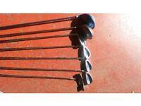 Half set golf clubs LEFT HANDED