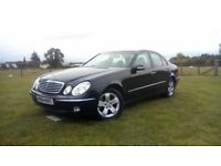 2004 Mercedes e270 cdi. NEW MOT. auto