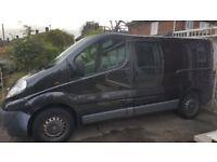 6 seater NO VAT 2013 vauxhall vivaro swb very realiable and clean