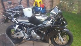 honda cbr 600 rr black call 07947461095