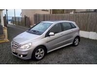 MERCEDES B180 CDi SE AUTOMATIC LATE 09 ,PAN ROOF LOW MILES PART EXCHANGE