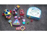 Peppa pig & teletubbies toy bundle