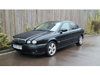 Jaguar X-Type 2.0 Classic D Saloon (2005/55 Reg) + Diesel + BLACK + MOT EXPIRED +