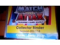 Match Attax 2017/18 Season to swap or buy