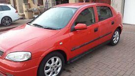 2002 Vauxhall Astra 1.6 sxi