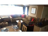 Static Caravan For Sale in Morecambe with HUGE Decking- Near Lake District - 2017 Site Fees Included