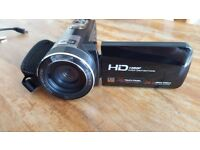 HD 1080p 24MP 16x digital zoom touch screen camcorder