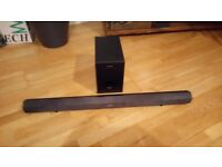Sony soundbar & sub, spares or repair