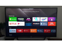 "Sony KD-49X8005C 49"" 4K UHD LED TV Smart Freeview"