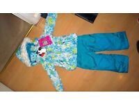 BNWT Snow suit, 2 piece snow set, dungaree and hooded coat
