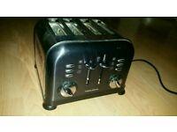 Toaster 4 slice morphy richards toaster