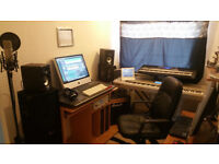 Complete Music Studio equipments for sale