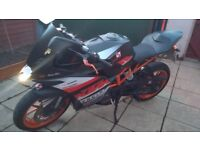 For sell KTM RC 125 VGC