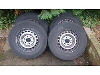 Mercedes Sprinter 235/65/16 6 stud wheels