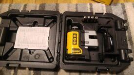 DeWalt DW089K 3 Way Ultra Bright Multi Line Laser