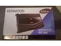 Kenwood KAC-6406 4/3 Channel Power Amplifier