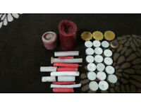 Free Assorted used + new candles
