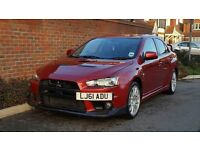 Mitsubishi Lancer EVO X GSR SST FQ-300 TURBO (2011/61) + SAT NAV + FMSH + P/X WELCOME + HIGH SPEC +