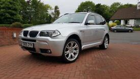 2009 BMW X3 2.0D LCI M SPORT **MASSIVE FACTORY SPEC**177BHP