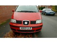 Seat alhambra automatic 7seater