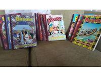 THE BROONS JOBLOT BUNDLE X 11 COMICS MAGAZINES 1983-2007 MISSING 1987 & 2005