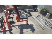 Weight lifting equipment job lot