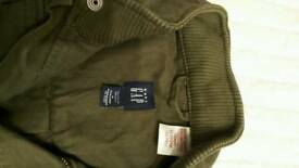 babyGap Boy forest green jacket 4yrs old