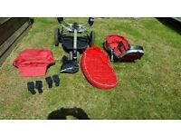 Quinny Buzz in good condition reliable pushchair never raced or rallied!!