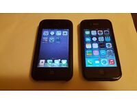 Iphone 4 and Iphone 3GS - Both Unlocked - Ready to use