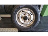 195 70 15 C 1 x tyre Pirelli Carrier + steel wheel