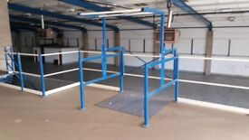 MEZZANINE FLOOR 12M X 7M WITH STAIRS DISMANTLED. REDUCED( STORAGE , PALLET RACKING )