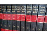 Colliers encyclopedia Full set Inc two dictionary