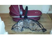 like new icandy carrycot.