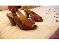 Pair of Clarks ladies shoes