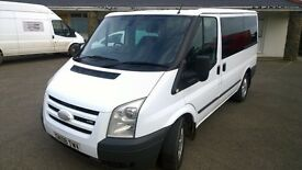 ford transit tourneo glx 130, 2008 registration, 9 seater, 2.2 lt turbo diesel , 137,000 miles