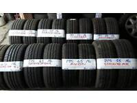 """BRANDED 16"""" NEW & AS NEW PERFORMANCE TYRES FROM £25-£35 loads more txt tyre size for price & av"""