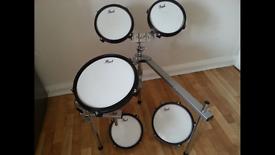 Pearl practice kit 5 piece drums