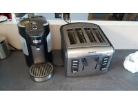 Breville one cup kettle and toaster