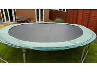 14ft garden trampoline