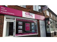 Desk to rent in prime location Birstall based Estate Agents office - ALL BILLS INCLUDED